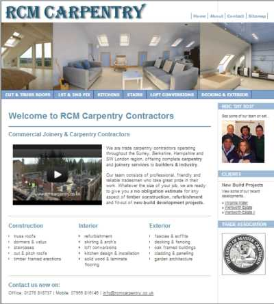 RCM Carpentry Contractors